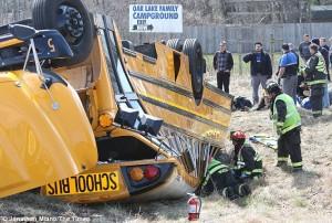 Griffith School Bus Crash